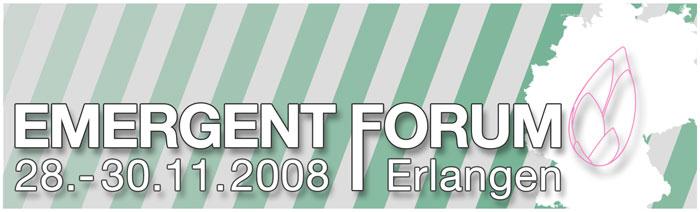 Emergent Deutschland Forum 2008